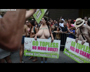 Monster Tits In Public